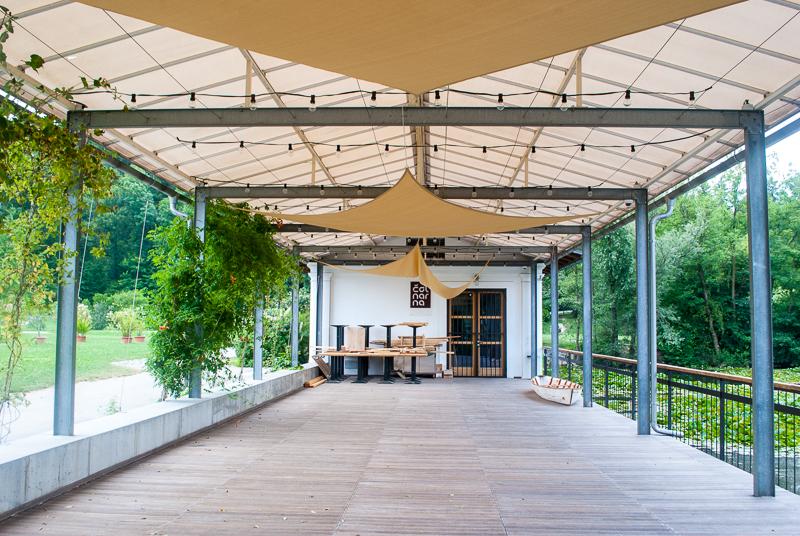 Cafes in ljubljana, slovenia park
