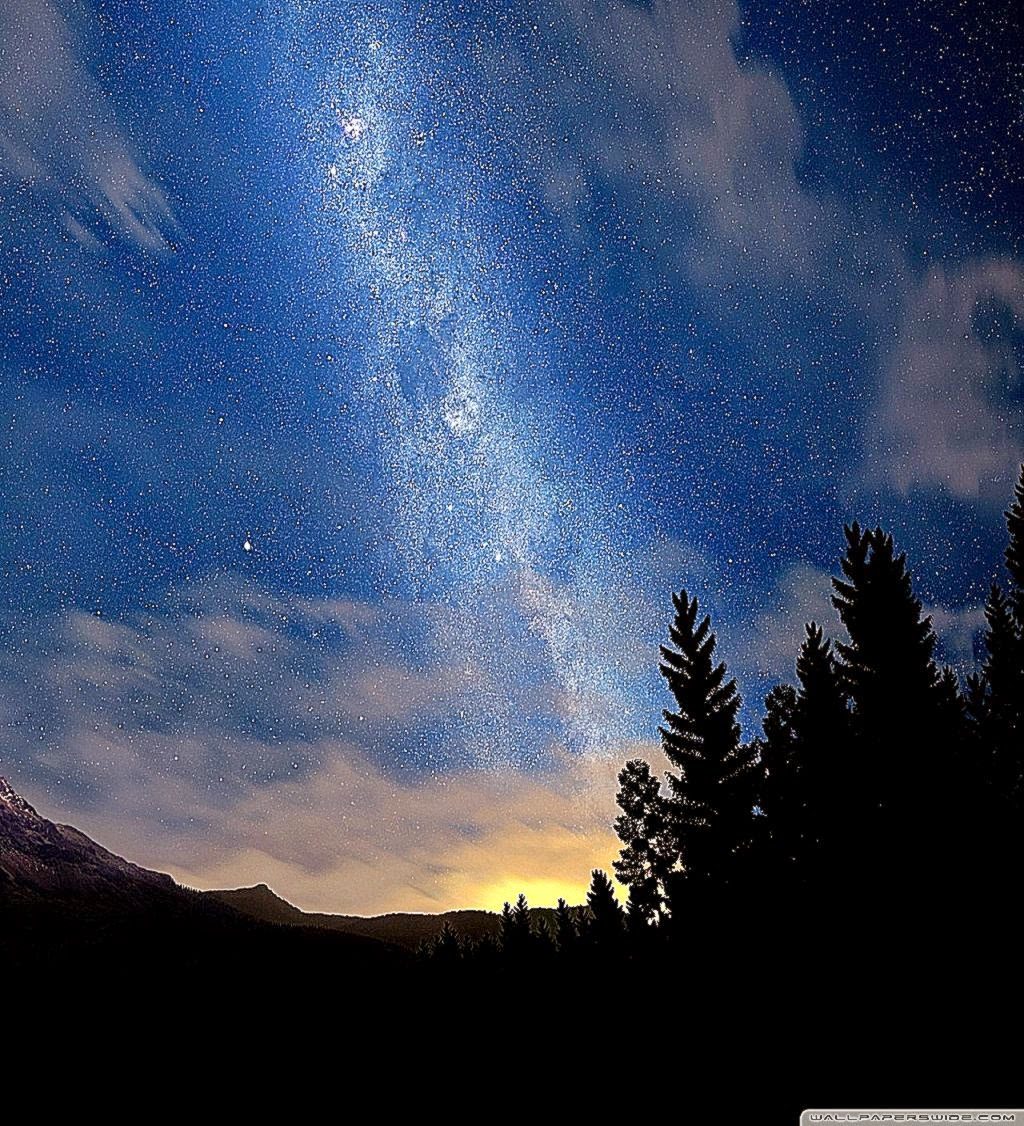 Night Sky Wallpaper Desktop Starry Night Sky hd Desktop