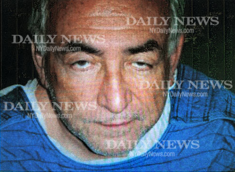 Photo de DSK dans sa cellule de la prison de Rikers