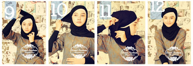 Cara Memakai Jilbab Berlapis Yang Modis Dan Cantik Cara Memakai Jilbab ...