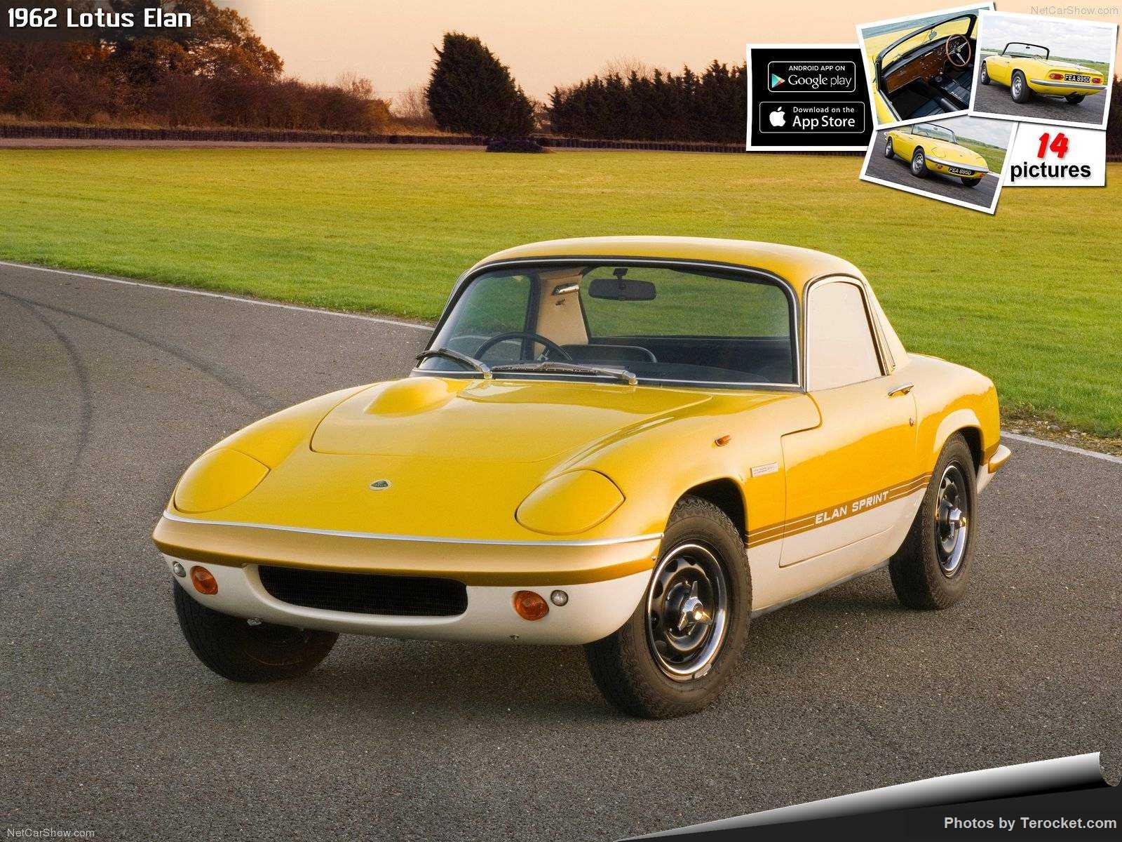 Hình ảnh siêu xe Lotus Elan 1962 & nội ngoại thất