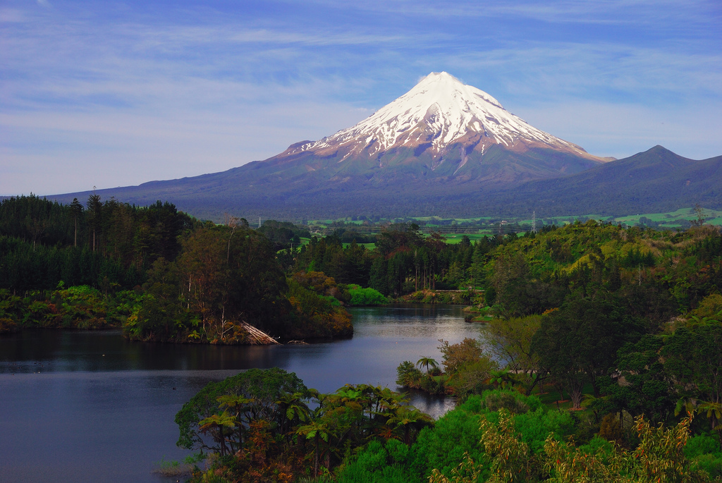 Mount Taranaki New Zealand  city photos gallery : Travel Trip Journey: Mount Taranaki, New Zealand