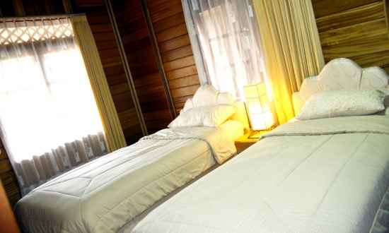 Contoh Kamar di Pesona Bamboe Lembang
