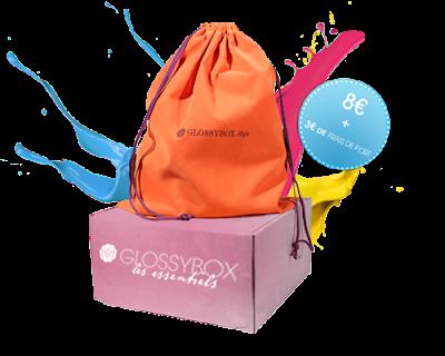 Nouvelle Glossybox à 11€ et 5 produits Full size !