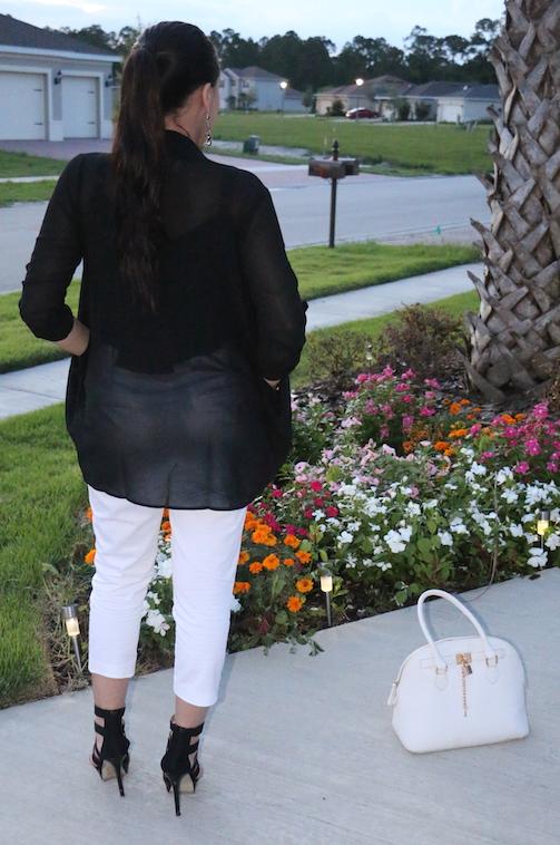 Monochrome-White-Capri-Pants-Black-Chiffon-Cardigan-OOTD
