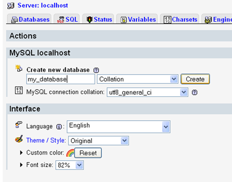 how to make phpmyadmin allow urls in tables