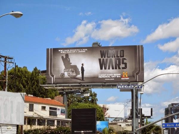 Roosevelt World Wars History billboard