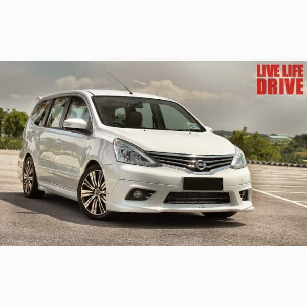 Body Kit Nissan Grand Livina Impul 2013-2014