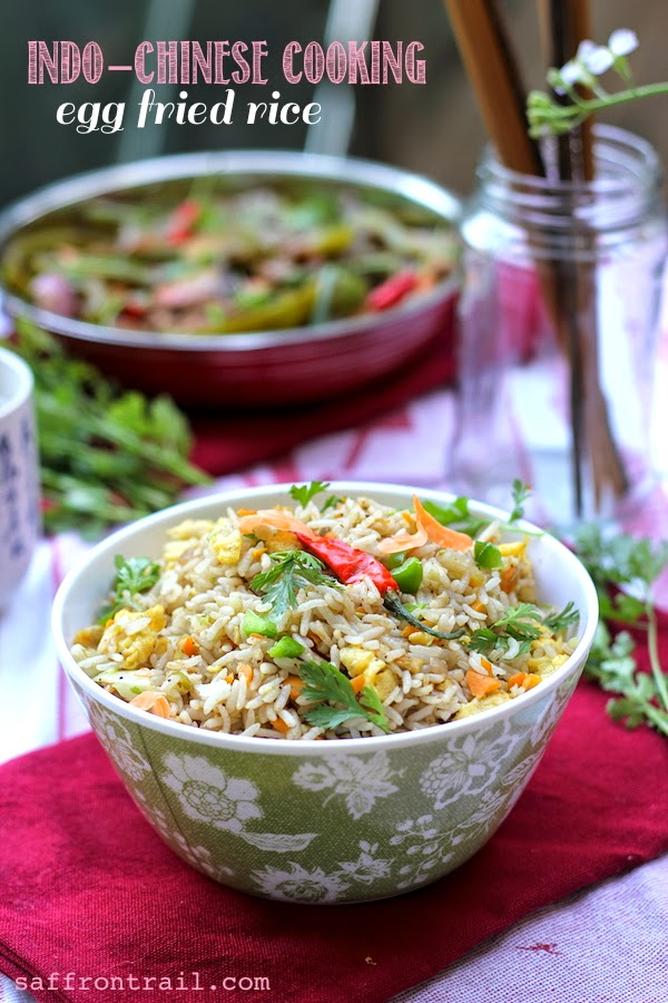 How to make egg fried rice – Recipe for Egg Fried rice | Indochinese recipes