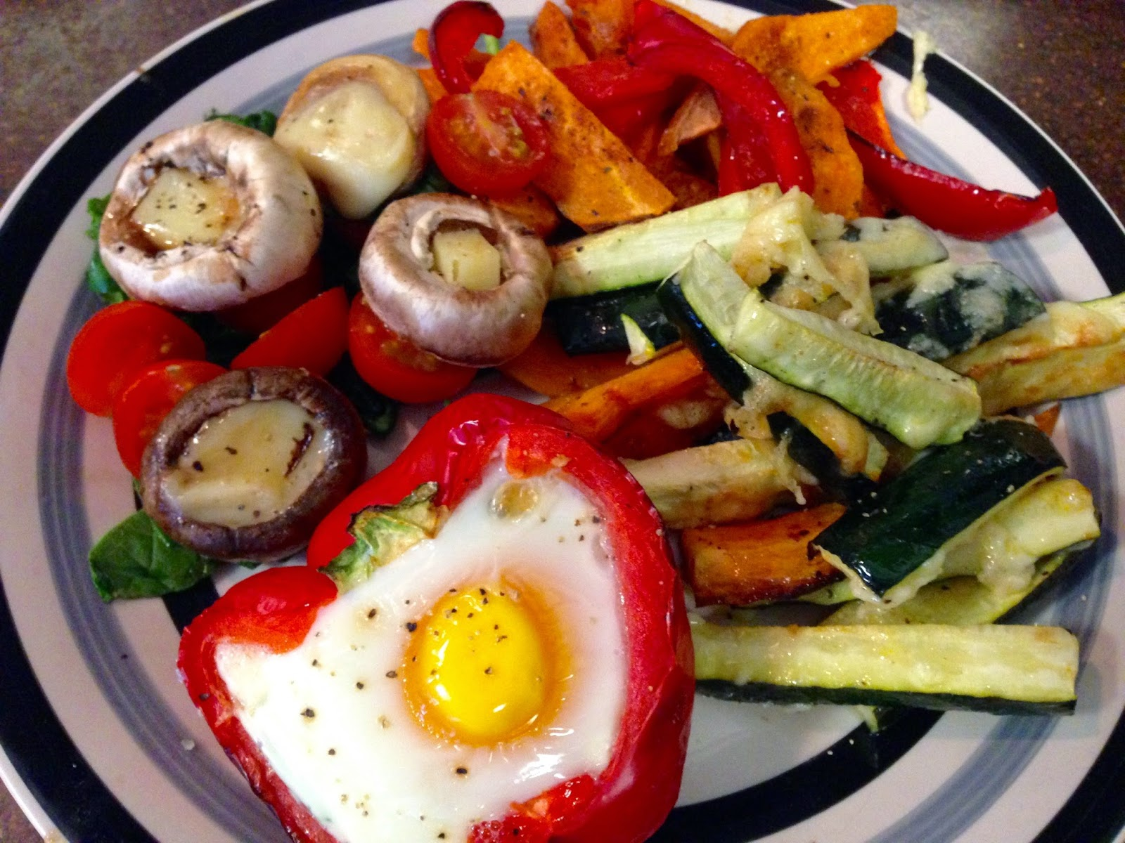 British Lion Eggs Recipe Baked Egg in Pepper