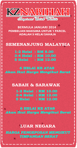 KZ Nabihah Delivery Terms