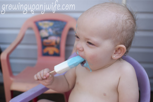 yogurt popsicle
