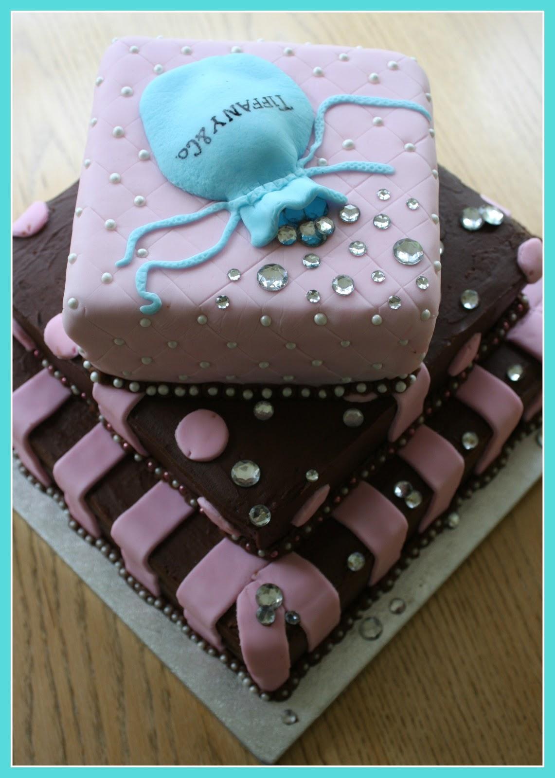 E D Does It Tiffany Co Birthday Cake