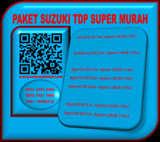 PAKET   SUZUKI TDP SUPER MURAH