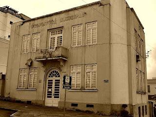 Museu e Arquivo Histórico de Flores da Cunha. antigo prédio da Prefeitura Municipal.