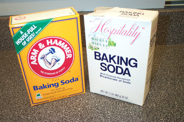 how to clean your hair with baking soda