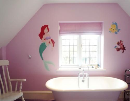 Ideas para el diseño del cuarto de baño de niñas ...