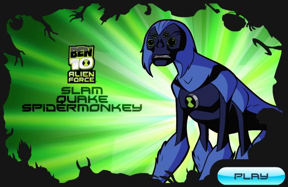 free online games of ben ten alien force