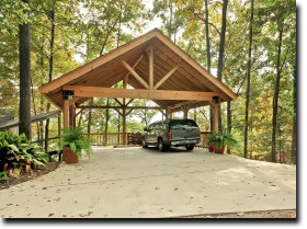 carport designs timber
