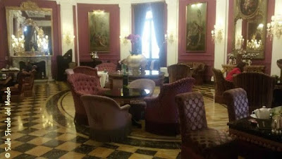 Baglioni Regina hotel, salottino