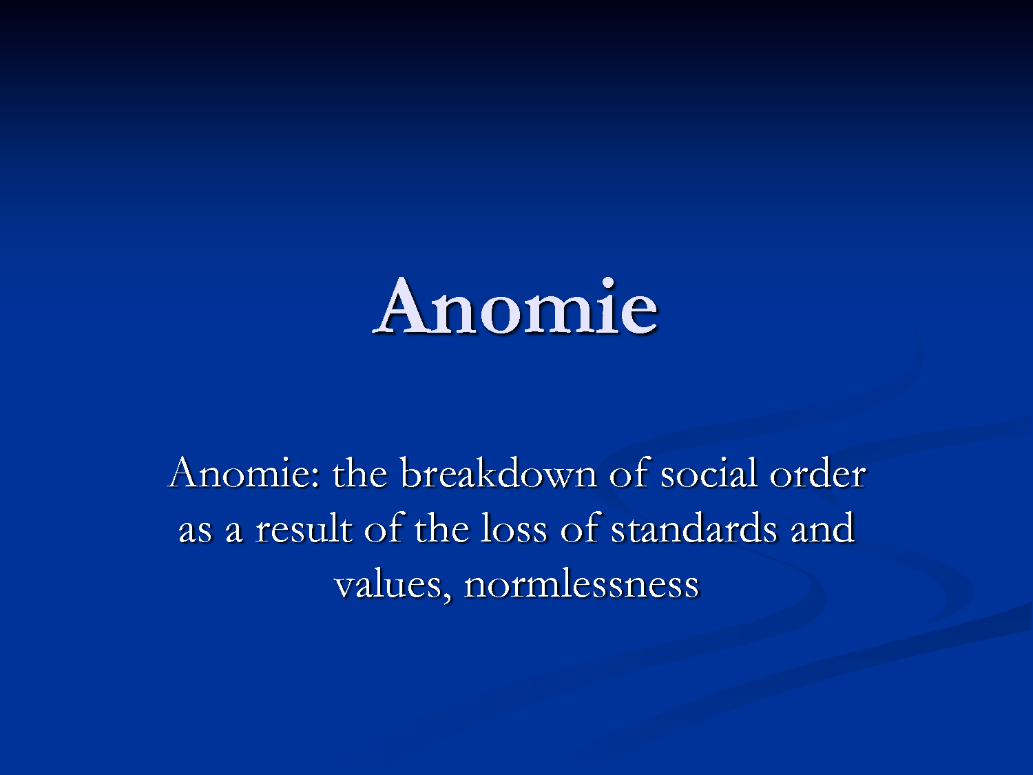 anomie and alienation essays
