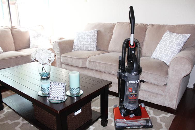 Eureka brush roll clean vacuum