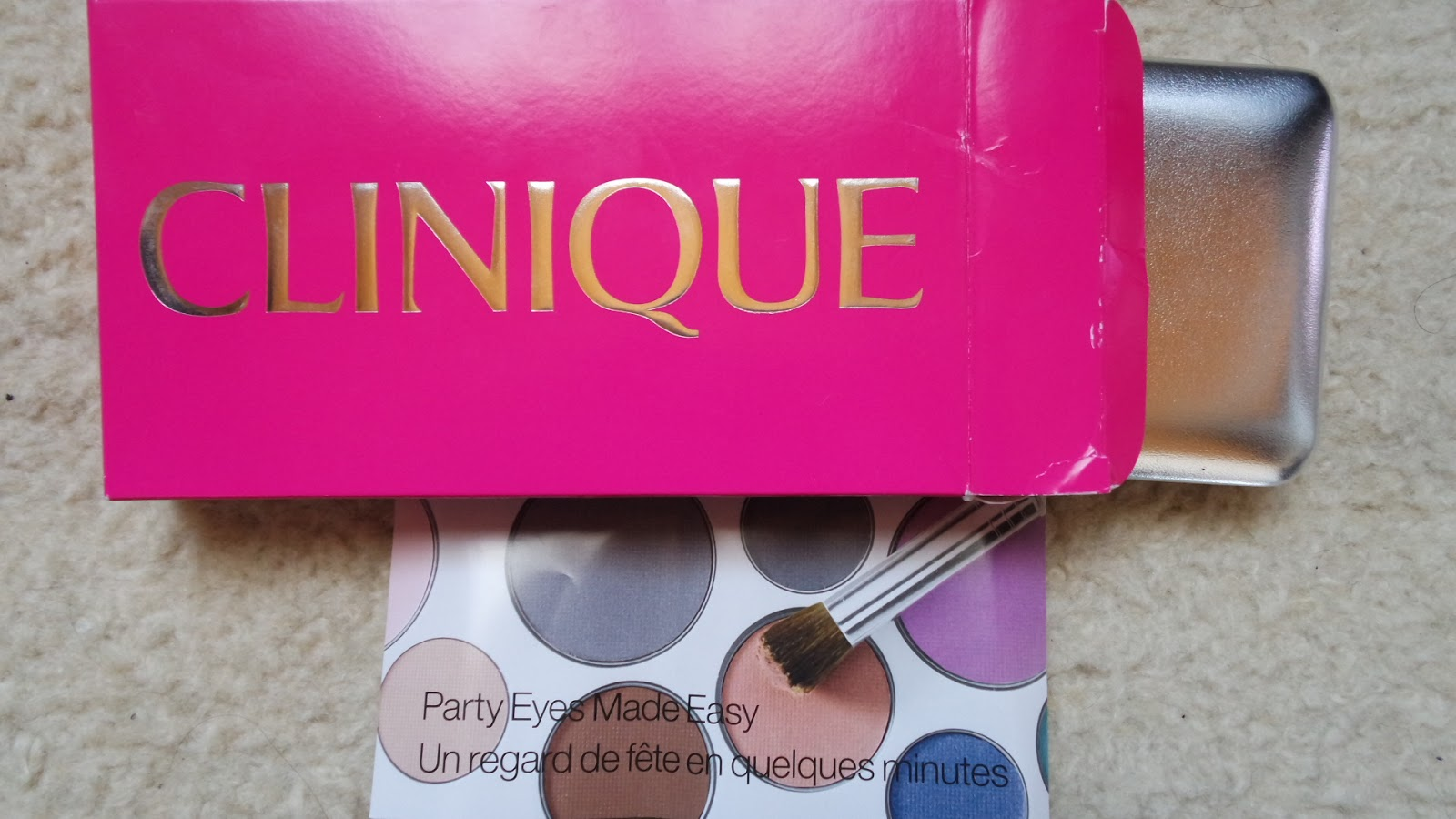 The cutest berry clinique party eyes made easy far for Where is clinique made