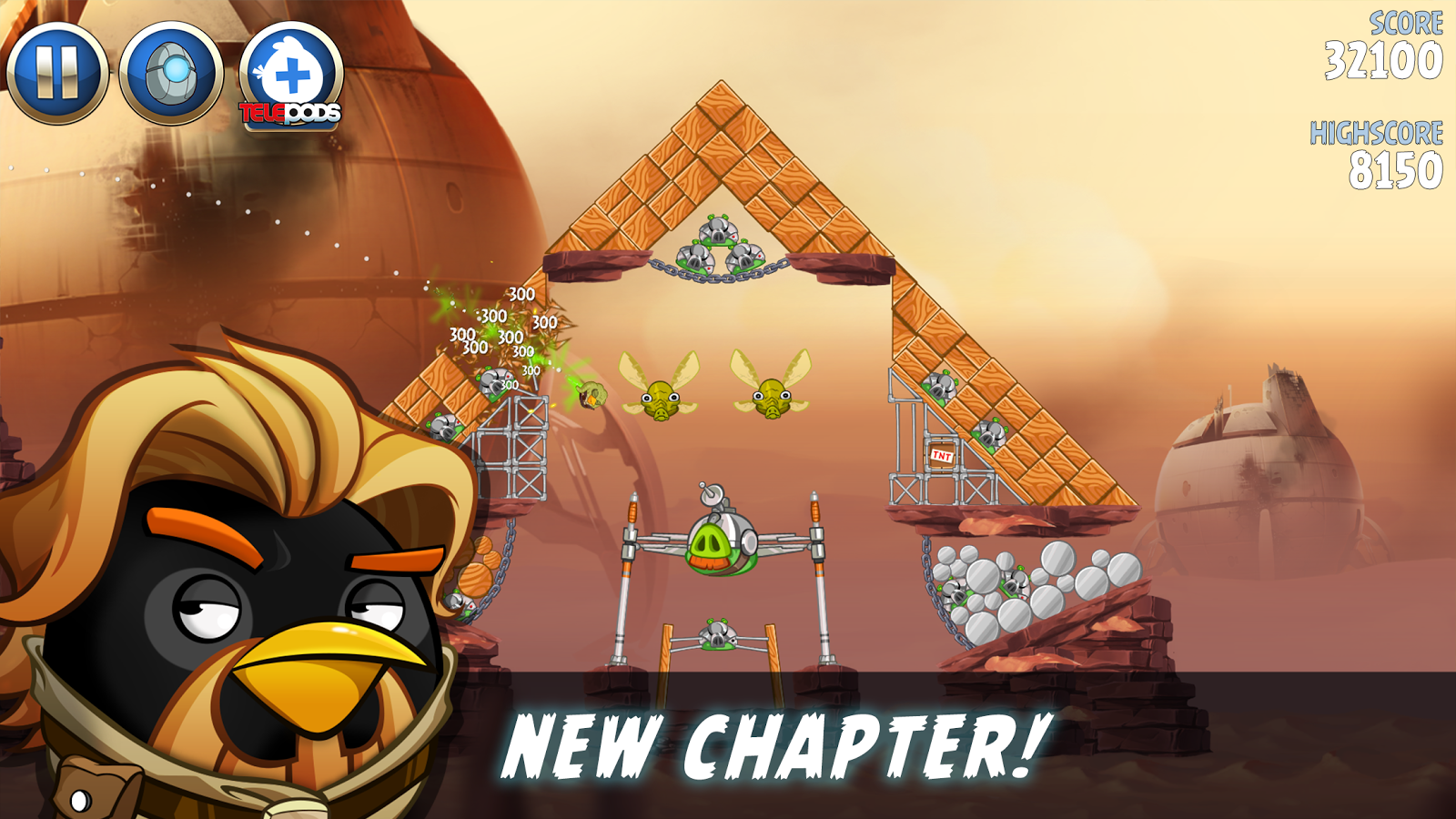 Angry Birds Star Wars II 1.9.25 Apk + MOD android