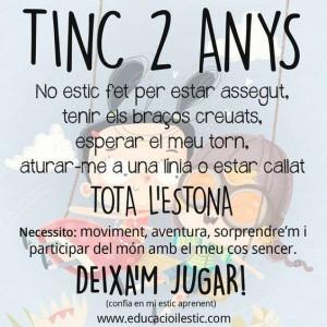 TINC 2 ANYS