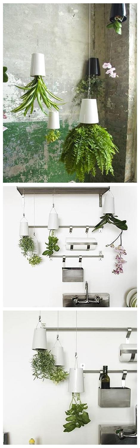 "Perfect Gardening Design Idea ""Upside Down Planter"""