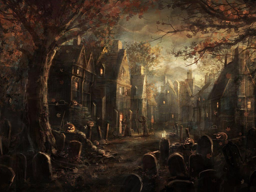 Scary Halloween Desktop Wallpaper Images amp Pictures Becuo