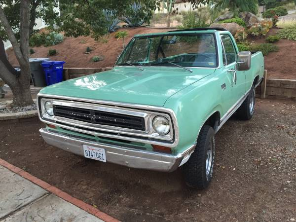 1975 Plymouth Trailduster 4x4 SUV