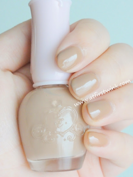 Etude House Dear my deep color nail polish DBE101 - Lazy Beige