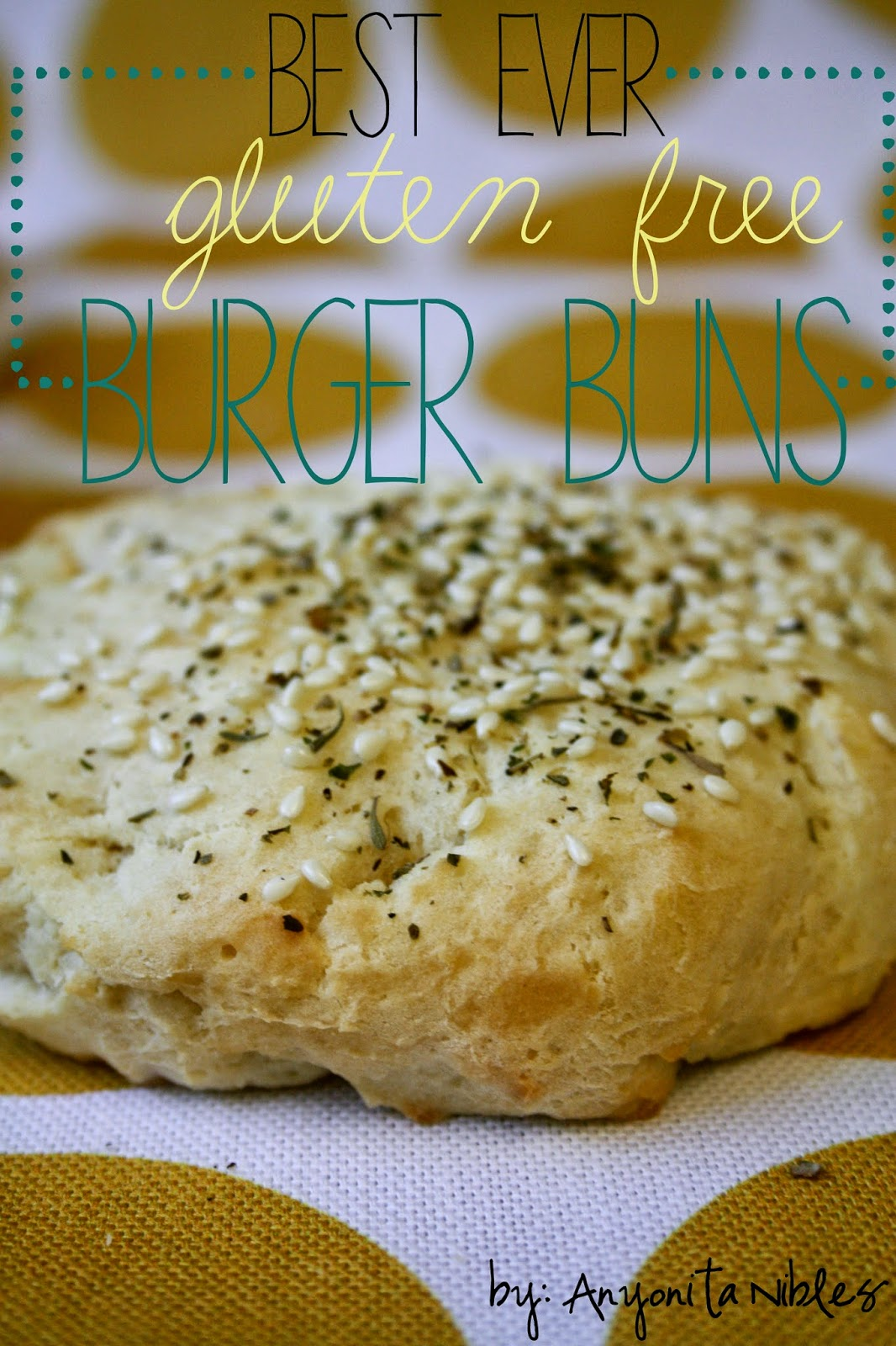 The only recipe you'll need for gluten free burger buns. Amazing!