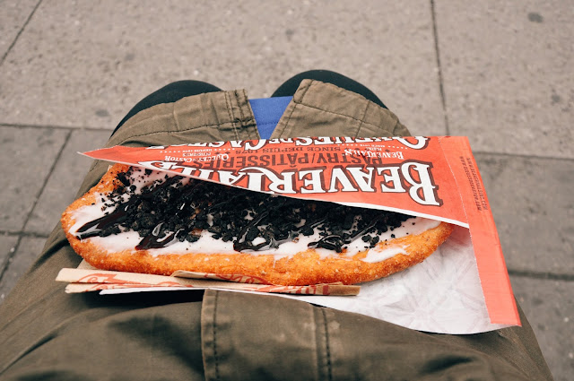 Coco Vanilla BeaverTails @ BeaverTails Pastry