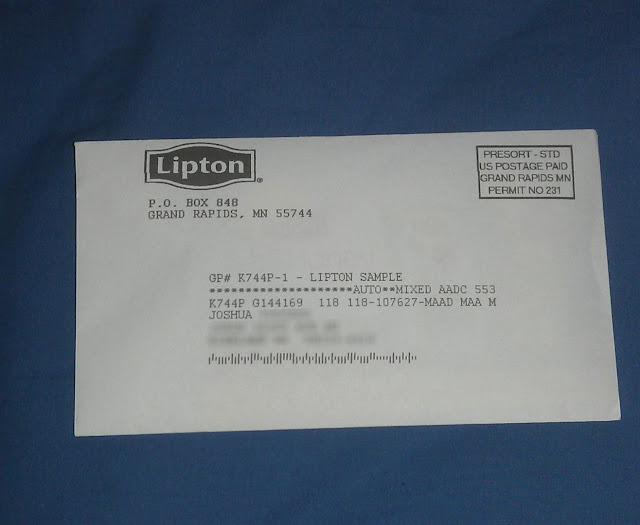 Lipton Tea & Honey Iced Tea Packet Free Sample