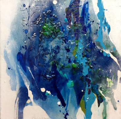 painting, abstract, non-representational, Christa Oglan