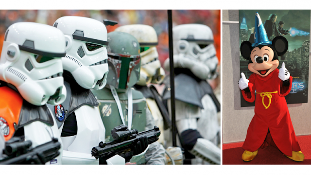 Disney bought Lucasfilm