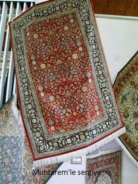 Turkish Silk Carpet