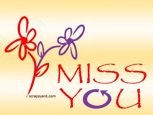 wallpaper of i miss you
