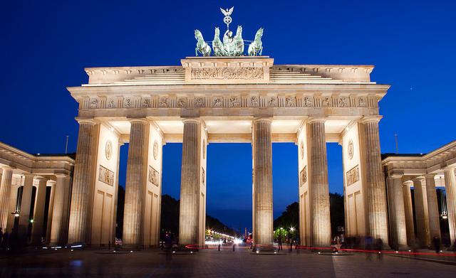 Cổng Brandenburg nổi tiếng