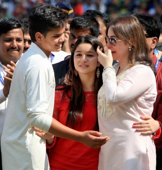 sports: Sara tendulkar Sachin Tendulkar Daughter