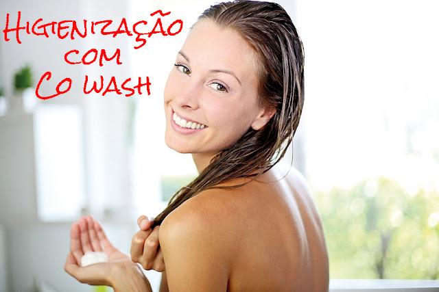 Higienização com co wash