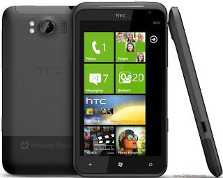 harga spesifikasi HTC Titan terbaru 2012