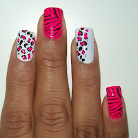 Animal Print - Oncinha e Zebrinha Rosa