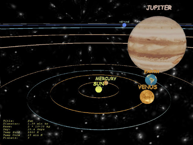 solar system of 3 d - photo #24