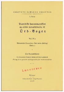 Arkivets Samlede Skrifter