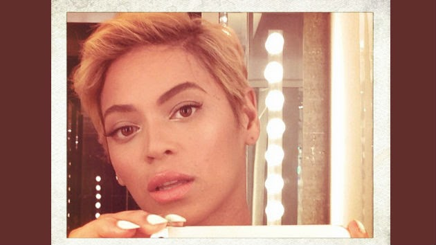 beyonce big chop, beyonce pixie cut, beyonce short hair