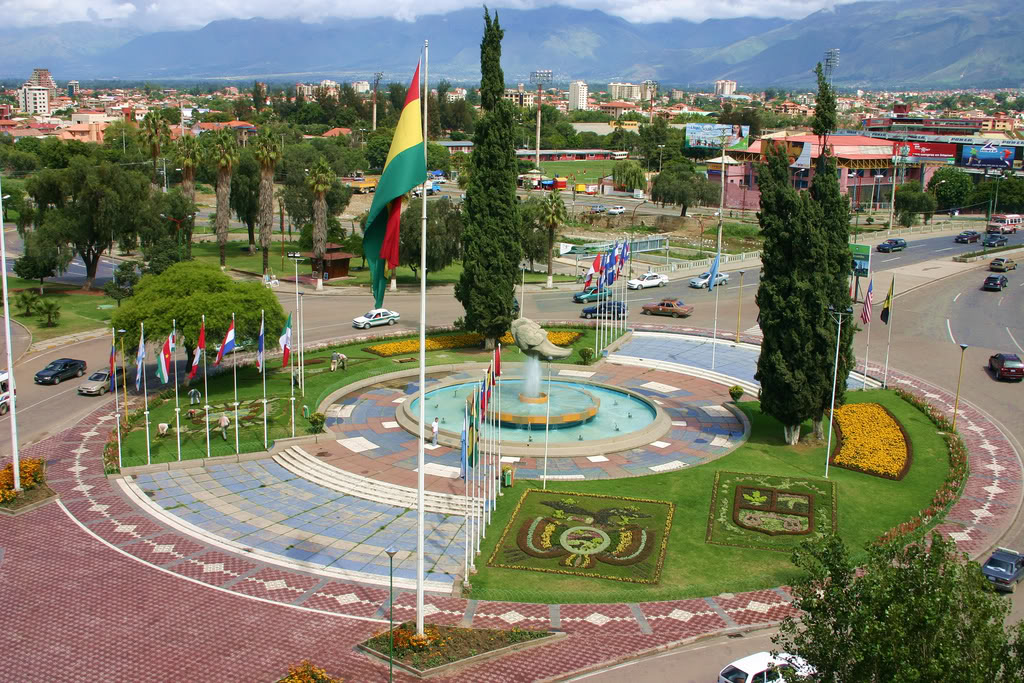 Cochabamba caracteristicas generales for Cementerio jardin la paz bolivia