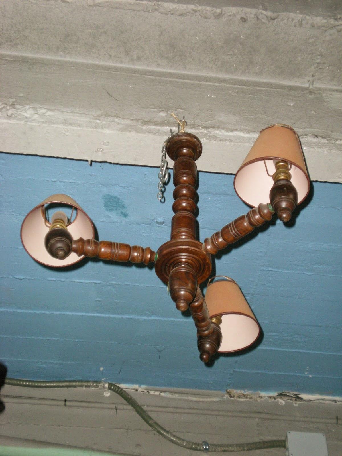 Ocasion deposit lamparas de techo de madera talladas - Lamparas de techo en madera ...